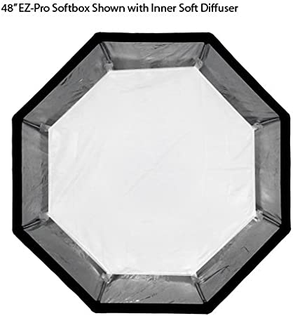 R Series and Pro Series Strobe Flash Light Soft Box Rx Series Pro Studio Solutions EZ Pro Beauty Dish Strip Box softbox 12x56 with Speedring insert Speed Ring Classica Powerpack for Bowens Gemini Standard