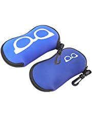 Glasses Pouch, Eyeglass Bag, Fashionable Eyewear Cases, High‑Quality Neoprene Family Friends for Reading Glasses Swimming Goggles