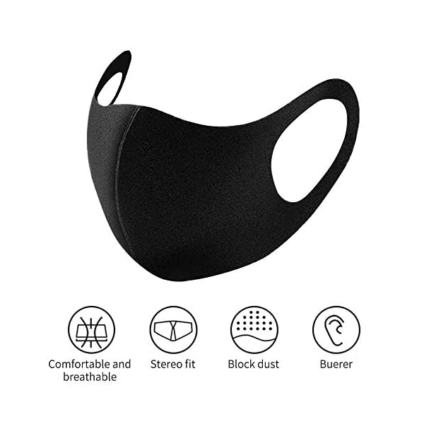 1//3//5//10X Anti-dust Mouth Face Mask Cycling Adult Reusable