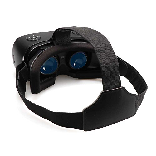 Qkifly 3D VR headset Virtual Reality Headset Full HD 2K Display 2560*1440P On Android 5.1 System 360 Degree Panorama Theate for Youtube Games Google Play WiFi Bluetooth HDMI input for Xbo PS by Qkfly (Image #3)