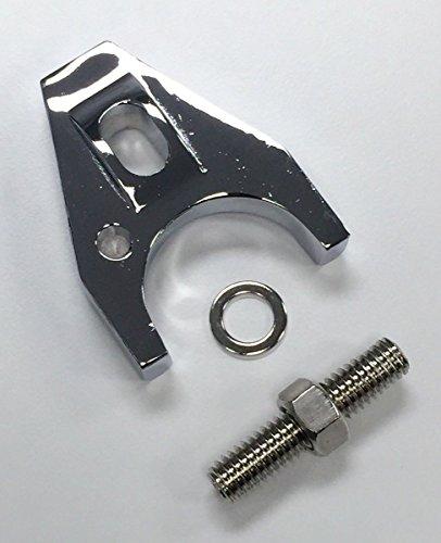 Hot Rod Chrome Aluminum Distributor Hold Down Clamp SBC 350 BBC 454