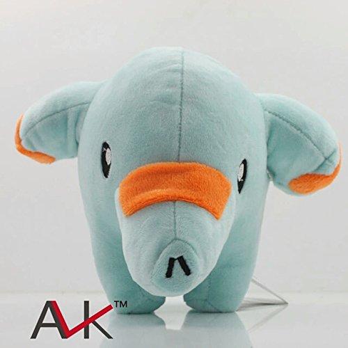 [18Cm Pokemon Plush Toy Pocket Monster Phanpy Soft Stuffed Animals Toys Cuddly Elephant Doll Gift] (Van Gun X Sword Costume)
