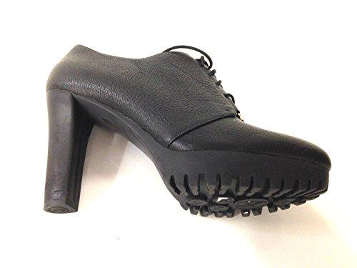 Armani Zapatos de Vestir de Piel Para Mujer Negro Negro