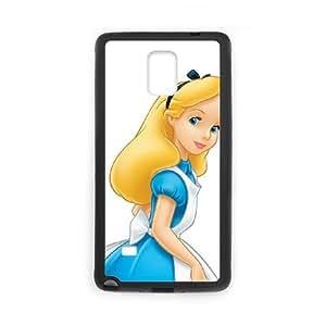Alice in Wonderland Samsung Galaxy Note 4 Cell Phone Case Black Phone Accessories SH_784105