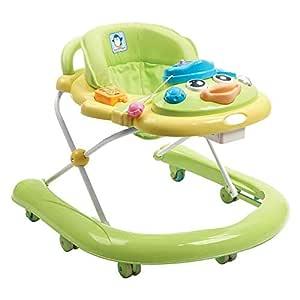 WU ZHI Andador para Bebés 6-18 Meses Antivuelco Altura ...