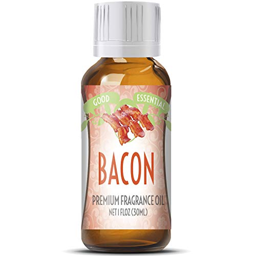 1 Bacon - Bacon Scented Oil by Good Essential (Huge 1oz Bottle - Premium Grade Fragrance Oil) - Perfect for Aromatherapy, Soaps, Candles, Slime, Lotions, and More!