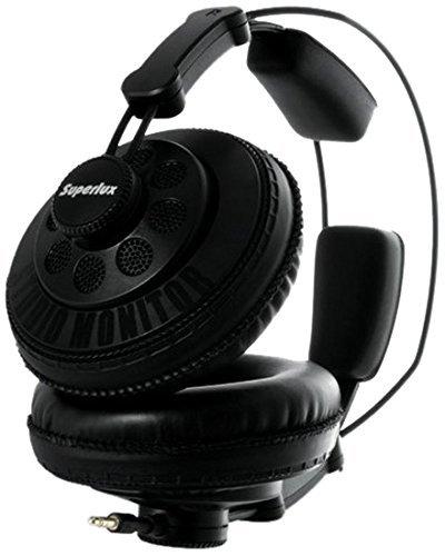 Superlux HD668B Dynamic Semi-Open Headphones by Superlux