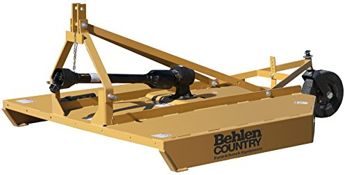 Behlen Country 80110060YEL Medium Duty Rotary Cutter, 6' (Country Cutter)