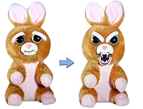 - Feisty Pets Vicky Vicious Adorable Plush Stuffed Bunny That Turns Feisty with a Squeeze