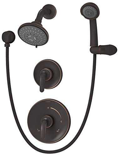 Symmons 5505-SBZ-TRM Elm Seasoned Bronze Shower System Trim with Hand Spray