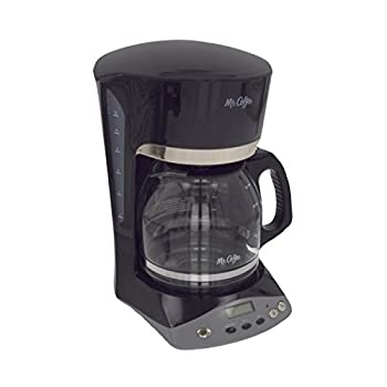 Mr. Coffee Simple Brew 12-Cup Programmable Coffee Maker, Black - SKX23-RB