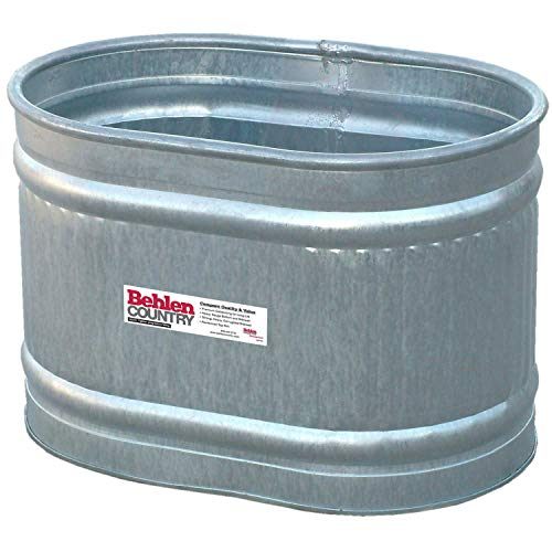 Behlen Country Galvanized Round End Tank (Approx. 71 gal.), Lot of 1