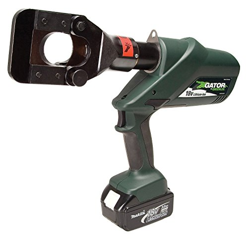 Greenlee ESG45L230 Gator Battery-Powered ACSR Cable Cutter with 230V AC Corded ()