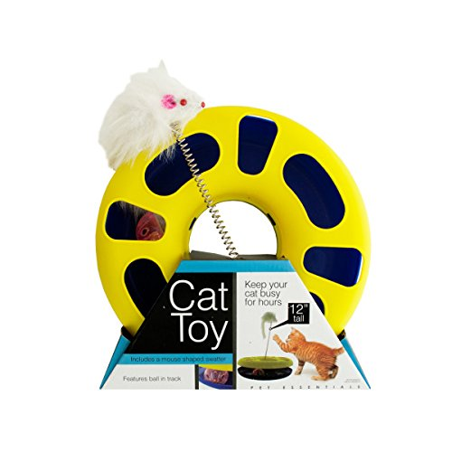 2-Packages of Ball Track Cat Toy with Mouse Swatter by bulk buys