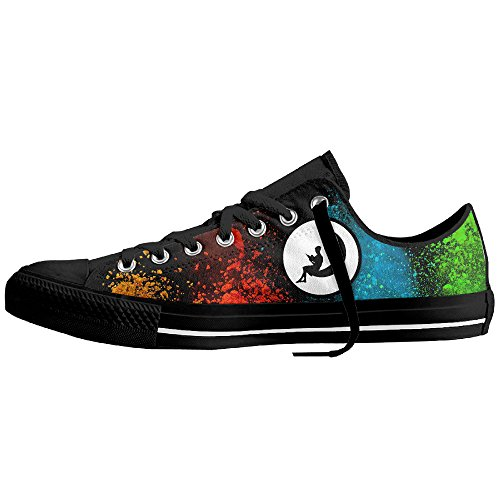 Like Yy Girl In The Moon Unisex's Leisure Plimsolls Shoes
