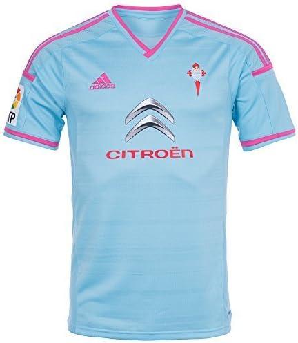 adidas Camiseta RC Celta de Vigo Home 2014 Celeste Talla M: Amazon.es: Deportes y aire libre