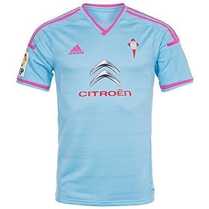 adidas Camiseta RC Celta de Vigo Home 2014 Celeste Talla L