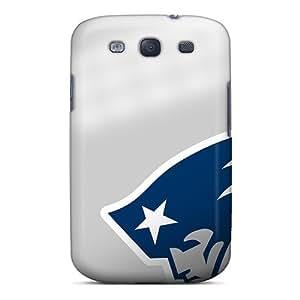 Flexible Tpu Back Case Cover For Galaxy S3 - New England Patriots wangjiang maoyi