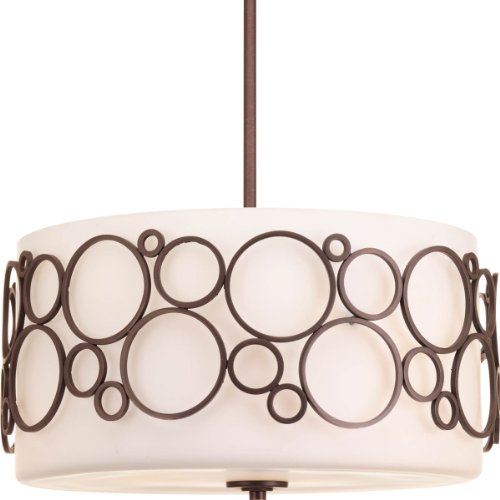 Progress Lighting P5014-74 Three-Light Large Pendant by Progress Lighting