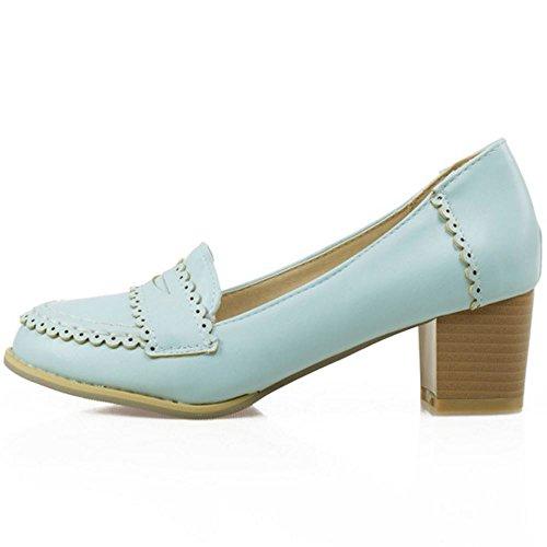 Brogue Doux Melady Blue Femmes Chaussures Z67OnOqE