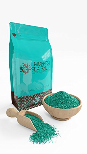 Eucalyptus & Spearmint Mediterranean Sea Bath Salt Soak - 5lb (Bulk) - Fine Grain