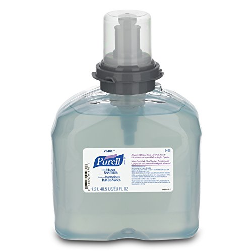 PURELL 5496-04 VF481 TFX Instant Hand Sanitizer, 1200 mL Refill (Pack of 4) by Purell