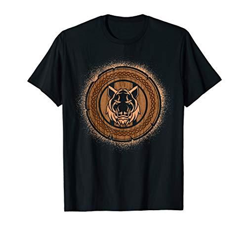 , Norse Mythology Boar's Head T-Shirt
