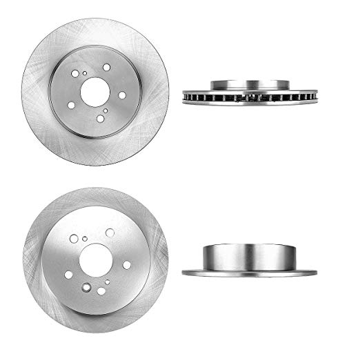 FRONT 319 mm + REAR 288 mm Premium OE 5 Lug [4] Brake Disc Rotors ()
