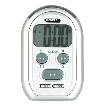 General Tools Stopwatch Flashing Vibrating