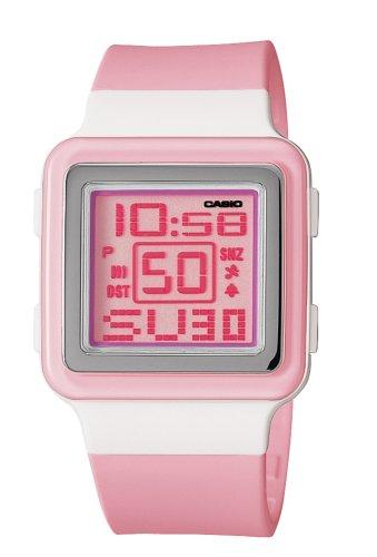 5efbb1e93 Casio Women's LDF20-4AV Digital Pink Resin Strap Watch - Import It All