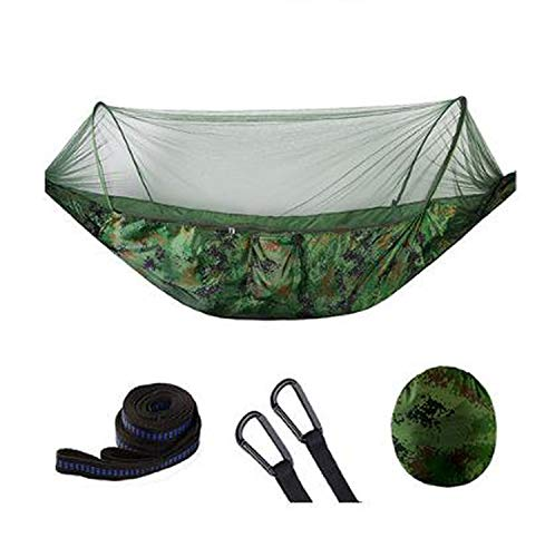 - JIA-WALK 210T Outdoor Hammock with Mosquito Net Can Hold 200kg Super Strong Hanging for Hiking Climbing Travel Camping,2