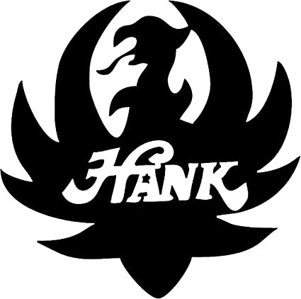 Amazon All About Familes Hank Williams Jr Logo Black Die Cut