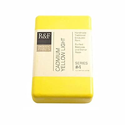 R&F Encaustic 333ml Paint, Cadmium Yellow Light