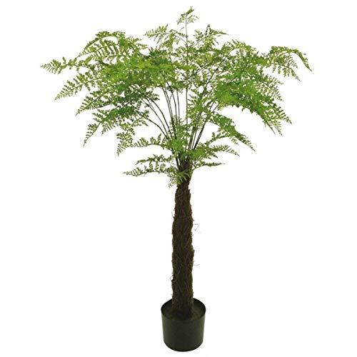 人工観葉植物 ファーンツリーポット 高さ120cm fg4640 (代引き不可) インテリアグリーン 造花 B07SSGW9K2