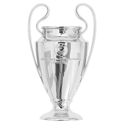 UEFA Champions League 2D Football/Soccer Trophy Magnet (One Size) (Silver) ()