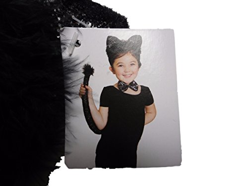 Cat Costume Accessory Kit - Headband with Ears, Bow and Tail - Walmart Cat Ears Costume