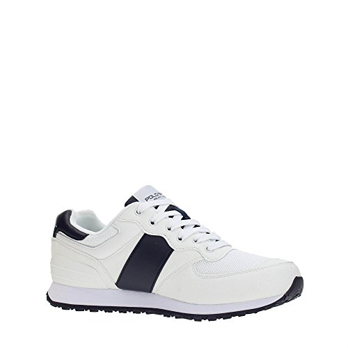 Polo Sport Ralph Lauren Slaton Pony Herren Sneaker Weiß Bianco-Blu