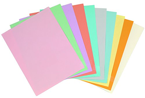 Pastel Colored Copy Paper 8 1 2 X 11 Salmon 500 Ream