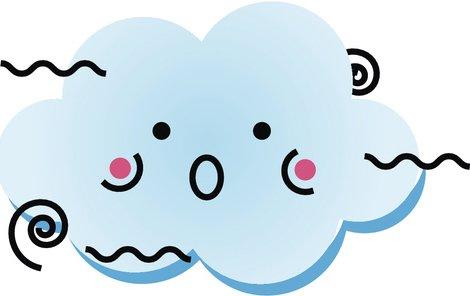 Cute Happy Kawaii Weather Climate Cartoon Emoji Vinyl Decal Sticker (4