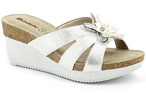 Inblu Muoti 4 Bianco Sandaalit Naisten Valkoinen wfT6F