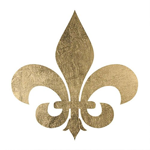 Gold Fleur de Lis Temporary Tattoos (5 pack) | Skin Safe | MADE IN THE USA| Removable