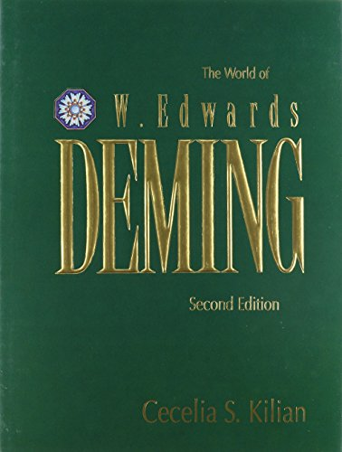 life and accomplishments of edwards deming W edwards deming: w edwards deming, american statistician, educator, and consultant whose advocacy of quality-control methods in industrial production aided japan.