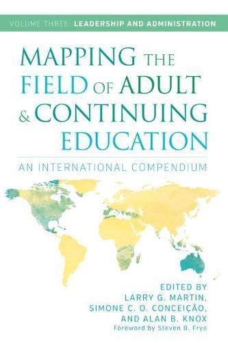3: Mapping the Field of Adult and Continuing Education: An International Compendium