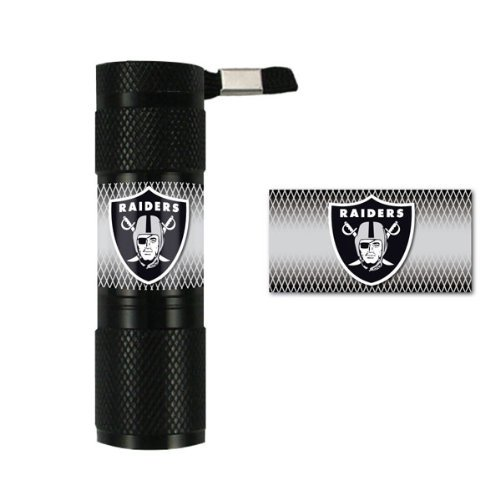 (NFL Oakland Raiders LED Flashlight )