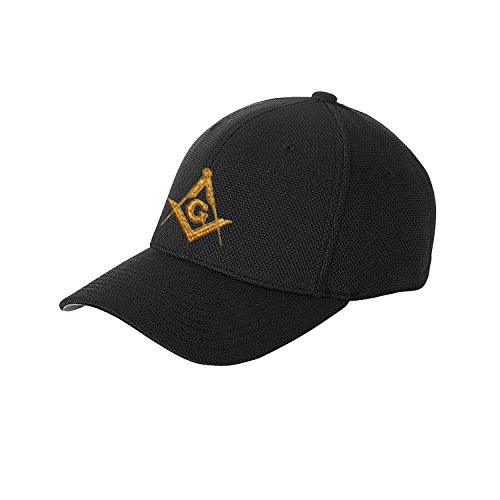 Masonic Exchange Solid Baseball Cap for the Freemason (Black Masonic Baseball Cap