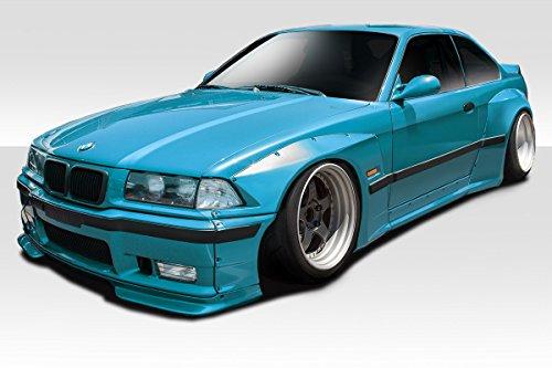 (Duraflex 113618 1992-1998 BMW 3 Series M3 E36 2DR Duraflex Circuit Wide Body Kit - 8 P)