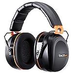 Tacklife Casque Anti-bruit Pliable Enfant Adulte, SNR 34dB/Protection Auditive/Certification CE/Confortable/Idéal pour… 8