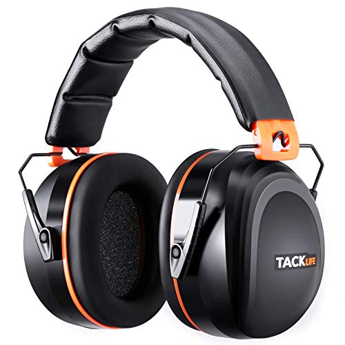 Tacklife Casque Anti-bruit Pliable Enfant Adulte, SNR 34dB/Protection Auditive/Certification CE/Confortable/Idéal pour… 1