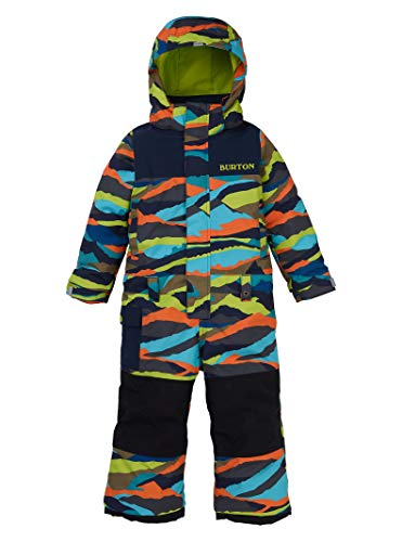 Burton Kids & Baby Toddler Kids' Striker One Piece,  Summit Stripe,  2T (Girls Toddler Snowboard Jacket)