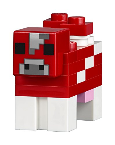 LEGO Minecraft The Mushroom Island 21129 Building Kit (247 Pieces ...